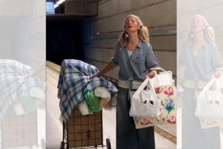 Una mujer sin hogar conmueve al Metro de Los Ángeles con su magnífica voz de soprano