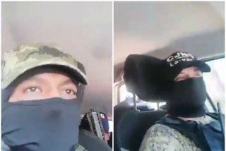 Vídeo: Así lanzan granadas los sicarios a los policías mexicanos