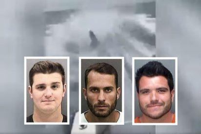 Tres salvajes arrastran a un tiburón hasta matarlo y graban toda la tortura en vídeo