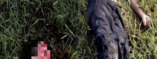 Imágenes fuertes: Arrancan el rostro de un joven en México y dejan su cuerpo con el cráneo al aire