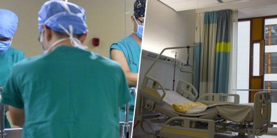 Enfermero usa la vagina de una paciente dormida como una marioneta