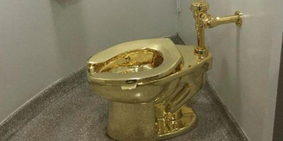 Roban un emblemático inodoro de oro en el Palacio de Blenheim