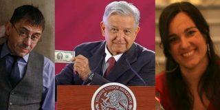 La 'Pablo Iglesias del chavismo catalán' copia el 'estilo Monedero' para intentar trincar del gobierno de México