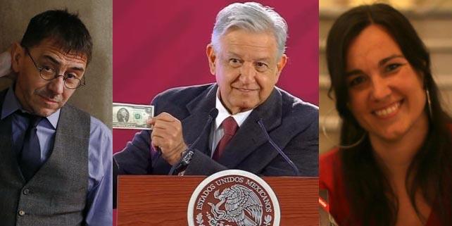 La 'Pablo Iglesias del chavismo catalán' copia a Monedero y hará la pelota a AMLO en Madrid, el nuevo Hugo Chávez de México