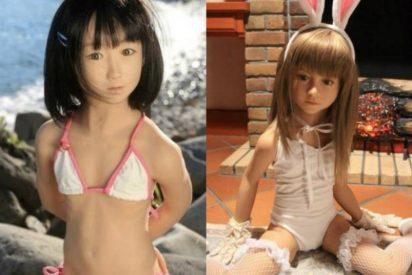 Noruega prohibe las muñecas sexuales para pederastas: Tienen el aspecto de inocentes niños