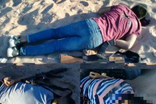 Tres niños sicarios ejecutan sin piedad a un joven y terminan abaleados por la policía mexicana