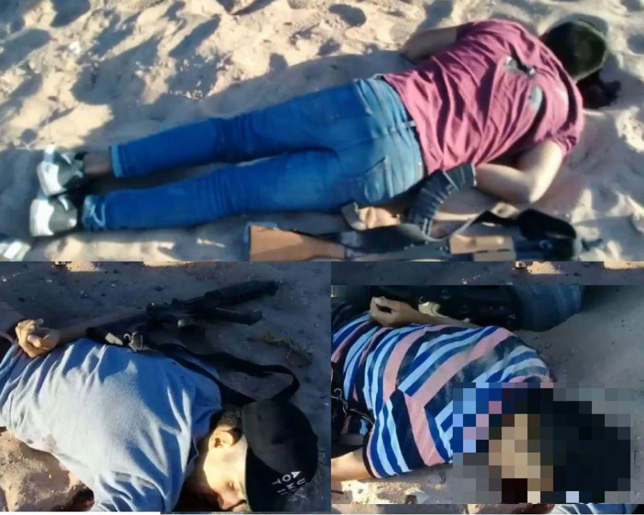 Tres niños sicarios ejecutan sin piedad a un muchacho y terminan baleados por la policía mexicana