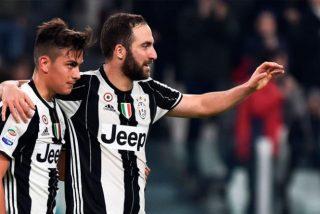 La Juventus deja a tres 'cracks' fuera de la Champions para que entren Paulo Dybala y Gonzalo Higuaín