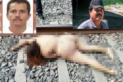 Foto: La torturan, desnudan y asesinan en las vías del tren en el 'campo de guerra' de los narcos El Mayo y El Mencho