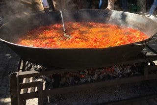Fusión de sabores latinos en Feria del Pimiento Morrón en Fresno de la Vega