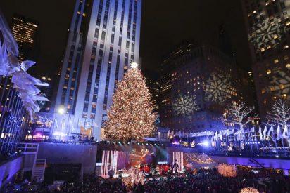 Éste es el árbol de Navidad que decorará la emblemática fachada del Rockefeller Center