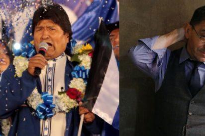 Monedero aplaude el fraude electoral de Evo Morales y lo zarandean en Twitter: