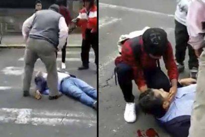 """Violencia en Ecuador: Ataque criminal contra el periodista de un canal de TV tildado de """"prensa corrupta"""" por Rafael Correa"""