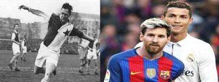 """La historia de Josef Bican, el dueño de la marca """"inalcanzable"""" para Messi y Cristiano Ronaldo"""