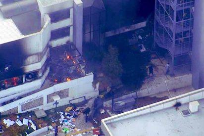 ¿Objetivo alcanzado?: Encapuchados incendian y saquean la Contraloría de Ecuador