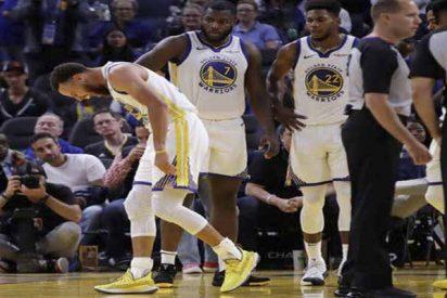 Los Warriors y su temporada 'maldita': La brutal fractura de Stephen Curry con más 100 kilos sobre su brazo