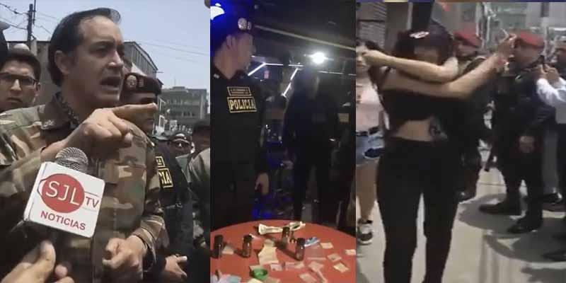 """Un alcalde de Lima clausura un """"prostibar"""" y arremete contra los migrantes venezolanos involucrados: """"No son refugiados es el lumpen"""""""