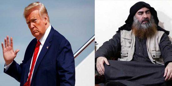 """Trump anuncia que """"algo gordo pasó"""" y todos hablan de la caída de Abu Bakr Al Baghdadi, líder de ISIS"""