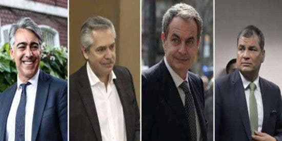 """Denuncian al """"diabólico"""" Zapatero y al 'Grupo de Puebla' por estar detrás de las protestas para desestabilizar Suramérica"""