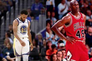 """'Su majestad' Michael Jordan le hace el feo a Curry: """"Todavía no se lo merece"""""""