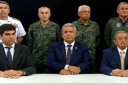 Crisis en Ecuador: Lenín Moreno se ratifica en la eliminación de subsidios y traslada la sede de gobierno de Quito a Guayaquil
