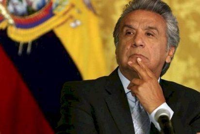 """El presidente de Ecuador concede su primera entrevista y acusa a Correa: """"Estuvo en Venezuela, seguro recibiendo instrucciones del dictadorzuelo"""""""