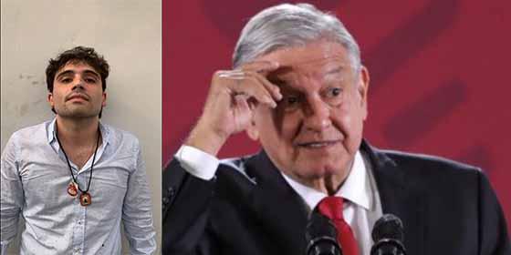López Obrador se baja los pantalones ante el hijo de 'El Chapo': Tras detenerlo lo libera asustado por los brutales tiroteos en Culiacán