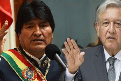 AMLO se quita la careta: El Gobierno de México felicita a Evo Morales por su fraude electoral