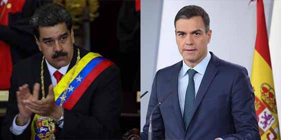 La hipocresía de Pedro Sánchez también en clave exterior: Sigue invitando al embajador del dictador Nicolás Maduro a los actos de Estado