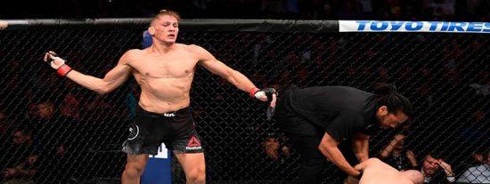 """El brutal nocaut con el talón que dejó a todos pasmados en la MMA: """"Es una locura, hay que ser un perro"""""""
