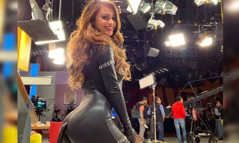 La 'chica más sexy del clima' presume de 'parachoques': Así deja ver su retaguardia Yanet García