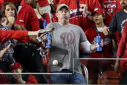Bud Light dará cerveza de por vida al fan del béisbol que prefirió un pelotazo a soltar su birra