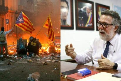 Cataluña: El descarado apoyo del cónsul de Maduro en Barcelona al 'procés' y el oportuno 'zasca' de una diputada de Ciudadanos