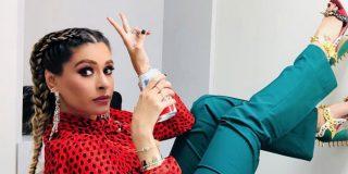 La presentadora mexicana Galilea Montijo mostró su fetiche sadomasoquista