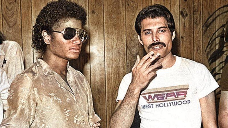 Así de irónico fue Freddie Mercury al descubrir la extraña costumbre de Michael Jackson