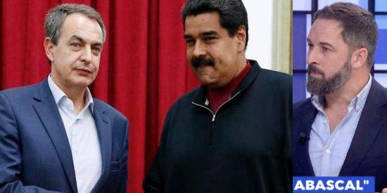 "Santiago Abascal desenmascara a Zapatero: ""Es el responsable de dividirnos y ahora está intentando separar a toda Latinoamérica"""