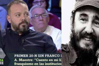 El 'obrero de pasarela' Antonio Maestre entra en shock por la peor ofensa que le pudieran hacer a su ídolo Fidel Castro