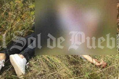 Vídeo: Los persiguen en coche y los asesinan a tiros en Puebla