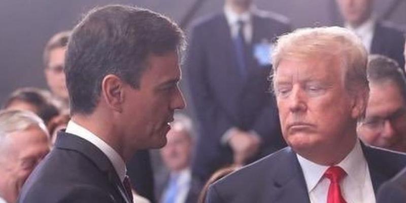 Así ha terminado de cabrear Sánchez a Trump y hundido las relaciones entre EEUU y España