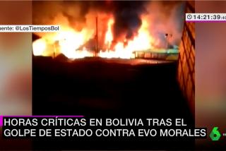 """laSexta entierra la ética y defiende al tirano Evo Morales en su telediario: """"¡En Bolivia hubo golpe de Estado!"""""""
