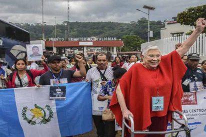 La caravana de Madres partió de Mexico y amenaza a EEUU