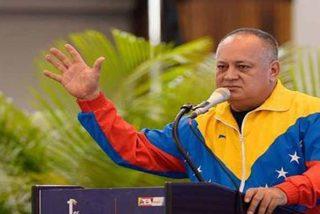 """El 'inMaduro' Diosdado Cabello sufre otra pataleta y carga contra Felipe González, Bertín Osborne y Vargas Llosa: """"Pillos ladrones"""""""