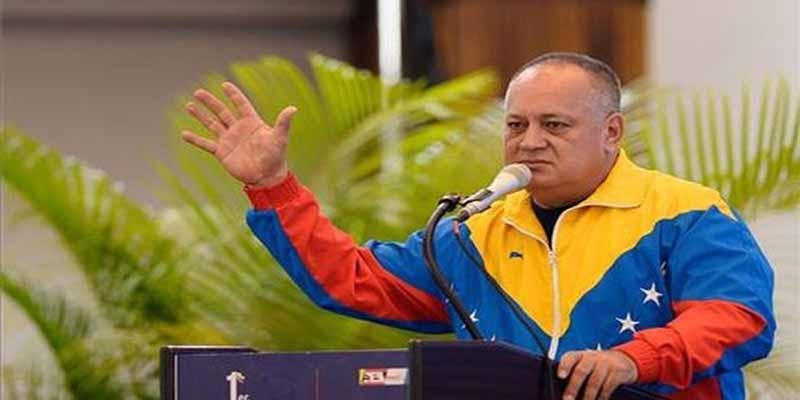 """El narco 'Odiado' Cabello se pasa por el arco del triunfo a los electoreros con Venezuela: """"Por las malas no nos vamos, pero por las buenas tampoco"""""""
