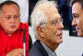 """El narco Diosdado humilla a sus camaradas del PSOE: Barre el suelo con el """"indigno"""" Pedro Sánchez y ridiculiza a Borrell imitándole"""