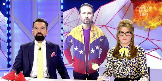 """La ofensa de 'Todo es Mentira' a la diáspora venezolana: Trivializan la crisis humanitaria chavista con bromas con el """"camarada Pablo Iglesias"""""""