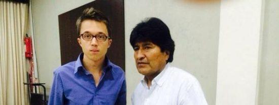 El 'moderado' Íñigo Errejón se acobija en un manifiesto para cargar contra la democracia de Bolivia y salir a la defensa del 'fraudulento' Evo Morales