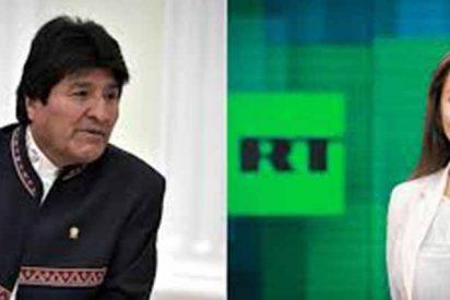 """Cadena rusa le ofrece trabajo de presenador a Evo Morales para sacarlo del paro: """"Correa está con nosotros y está encantado"""""""