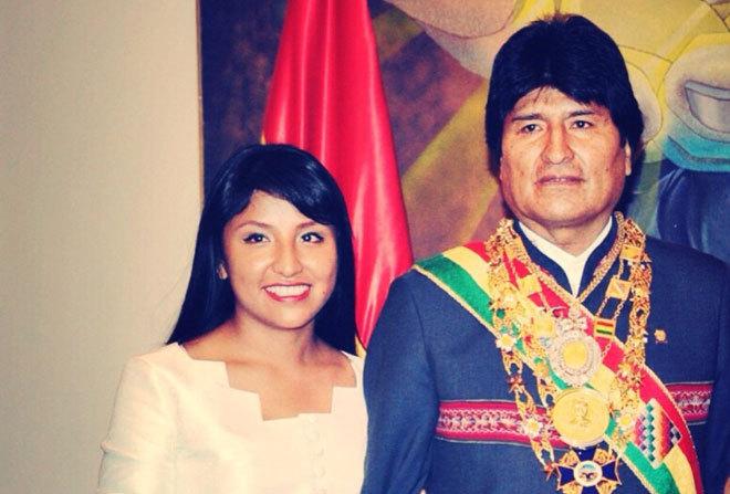Acusan de choriza a Evaliz, la hija de Evo Morales y este 'saca las garras' para defenderla