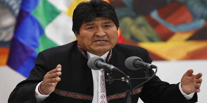 """¿Se le vino la noche a Evo Morales?: """"Quiero decirle al tirano que tiene 48 horas para renunciar"""""""