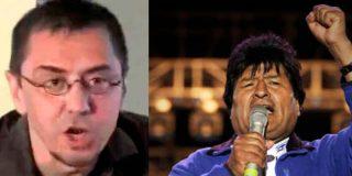 """""""Malditos medios de comunicación"""": Un Monedero frustrado carga contra la prensa por no defender al fraudulento Evo Morales"""